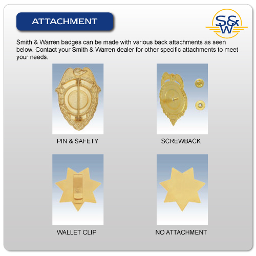 Badge attachment types